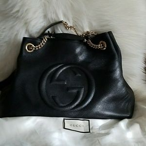 Gucci Soho Bag with gold hardware